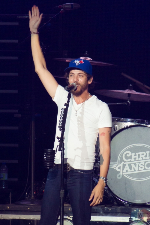 Chris Janson performs at Budweiser Stage in Toronto on June 15, 2017. (Photo: Alyssa Balistreri/Aesthetic Magazine)