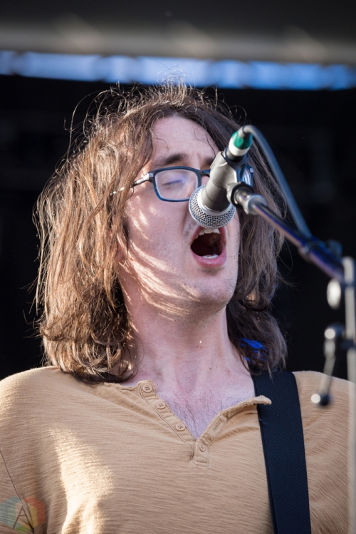 Cloud Nothings performs at the Field Trip Music Festival in Toronto on June 3, 2017. (Photo: Brendan Albert/Aesthetic Magazine)