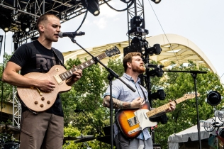 Current Events performs at the Bunbury Music Festival in Cincinnati on June 3, 2017. (Photo: Taylor Ohryn/Aesthetic Magazine)