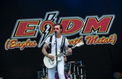 Eagles of Death Metal performs at Montebello Rockfest in Montebello, Quebec on June 24, 2017. (Photo: Greg Matthews/Aesthetic Magazine)