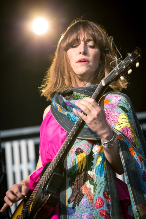 Feist performs at the Field Trip Music Festival in Toronto on June 4, 2017. (Photo: Brendan Albert/Aesthetic Magazine)