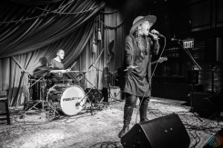 Flint Eastwood performs at Public Arts in New York City on June 8, 2017. (Photo: Alx Bear/Aesthetic Magazine)