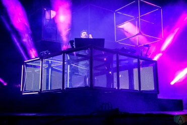 Flume performs at Governors Ball in New York City on June 2, 2017. (Photo: Alx Bear/Aesthetic Magazine)