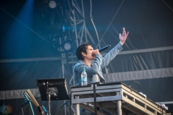 Gryffin performs at the Governors Ball Music Festival in New York City on June 4, 2017. (Photo: Alx Bear/Aesthetic Magazine)