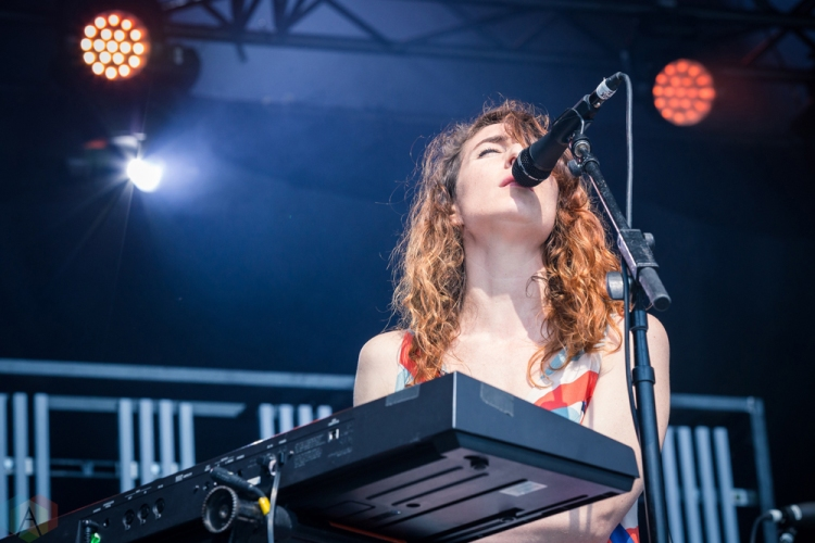 Hannah Georgas performs at the Field Trip Music Festival in Toronto on June 4, 2017. (Photo: Brendan Albert/Aesthetic Magazine)