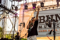 Hayley Kiyoko performs at the Bunbury Music Festival in Cincinnati on June 3, 2017. (Photo: Taylor Ohryn/Aesthetic Magazine)