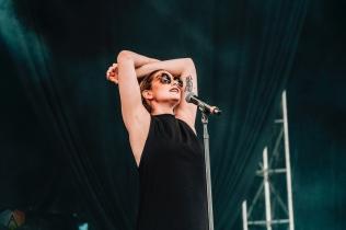 Heartstreets performs at NXNE Port Lands in Toronto on June 24, 2017. (Photo: Nicole De Khors/Aesthetic Magazine)