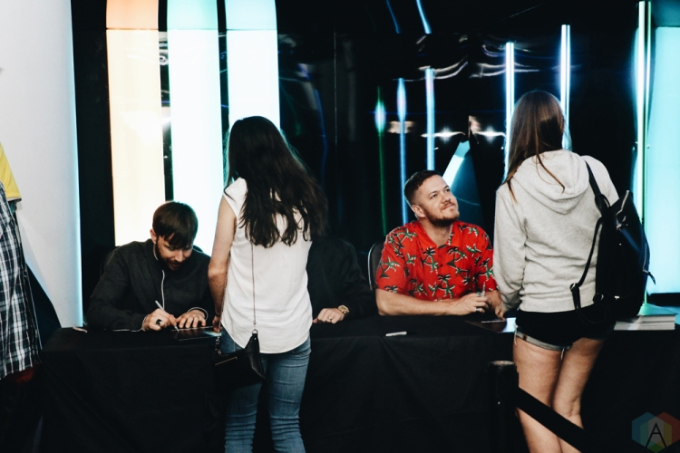 Imagine dragons pop up shop and fan meet and greet in toronto on imagine dragons pop up shop and fan meet and greet in toronto on m4hsunfo