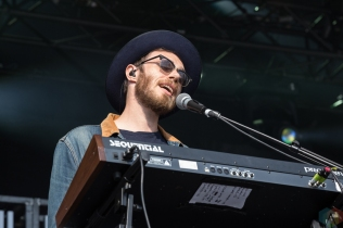 James Vincent McMorrow performs at the Field Trip Music Festival in Toronto on June 4, 2017. (Photo: Brendan Albert/Aesthetic Magazine)