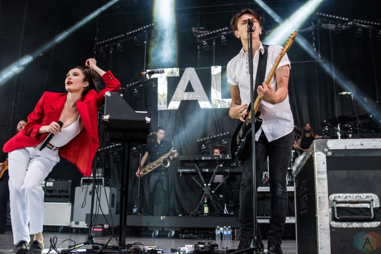 July Talk performs at Budweiser Stage in Toronto on June 24, 2017. (Photo: Tyler Roberts/Aesthetic Magazine)