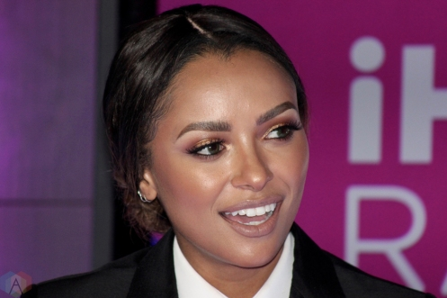 Actress Kat Graham attends the 2017 iHeartRadio Much Music Video Awards in Toronto on June 18, 2017. (Photo: Curtis Sindrey/Aesthetic Magazine)