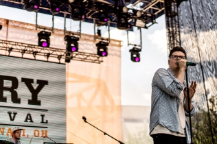 Kevin Garrett performs at the Bunbury Music Festival in Cincinnati on June 3, 2017. (Photo: Taylor Ohryn/Aesthetic Magazine)