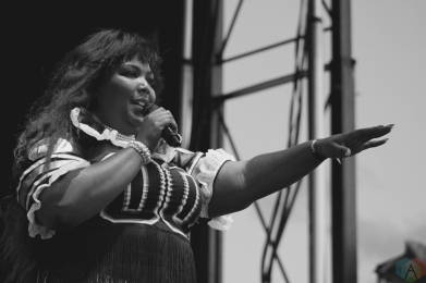 Lizzo performs at NXNE Port Lands in Toronto on June 25, 2017. (Photo: Curtis Sindrey/Aesthetic Magazine)