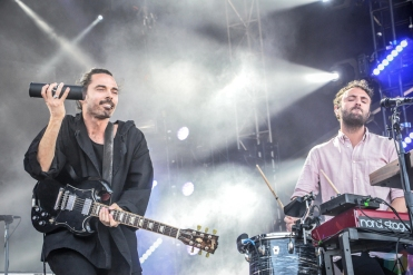 Local Natives performs at the Governors Ball Music Festival in New York City on June 3, 2017. (Photo: Alx Bear/Aesthetic Magazine)