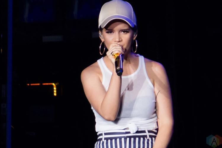 Maren Morris performs at Budweiser Stage in Toronto on June 15, 2017. (Photo: Alyssa Balistreri/Aesthetic Magazine)