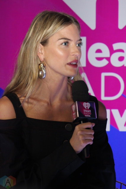 Model Martha Hunt attends the 2017 iHeartRadio Much Music Video Awards in Toronto on June 18, 2017. (Photo: Curtis Sindrey/Aesthetic Magazine)