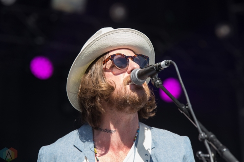 Matt Mays performs at the Field Trip Music Festival in Toronto on June 3, 2017. (Photo: Brendan Albert/Aesthetic Magazine)