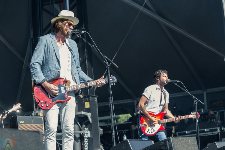 Matt Mays performs at the Field Trip Music Festival in Toronto on June 3, 2017. (Photo: Brendan Albert/Aesthetic Magazine)