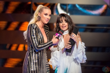Camila Cabello on stage at the 2017 iHeartRadio Much Music Video Awards in Toronto on June 18, 2017. (Photo: Orest Dorosh/Aesthetic Magazine)