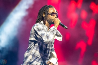 Jazz Cartier performs at the 2017 iHeartRadio Much Music Video Awards in Toronto on June 18, 2017. (Photo: Orest Dorosh/Aesthetic Magazine)