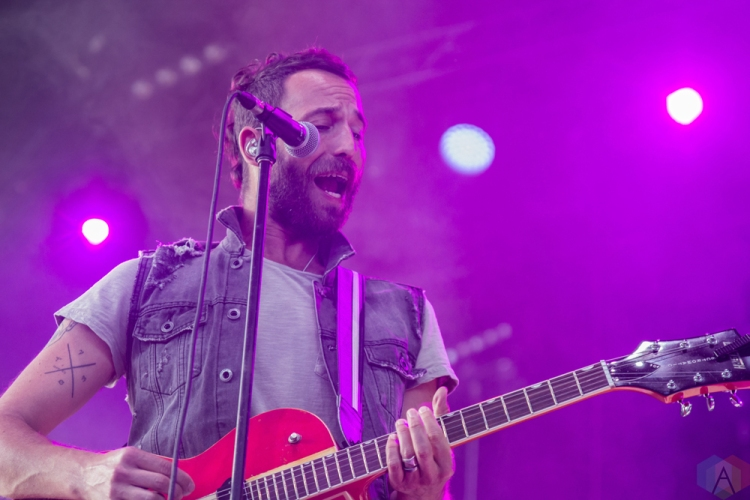 Mondo Cozmo performs at Budweiser Stage in Toronto on June 24, 2017. (Photo: Tyler Roberts/Aesthetic Magazine)