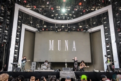 Muna performs at Governors Ball in New York City on June 2, 2017. (Photo: Alx Bear/Aesthetic Magazine)