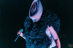Peaches performs at the Phoenix Concert Theatre in Toronto on June 19, 2017 during NXNE. (Photo: Nicole De Khors/Aesthetic Magazine)