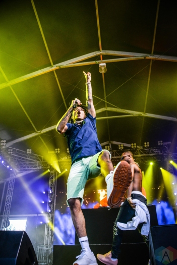 Rae Sremmurd performs at the Governors Ball Music Festival in New York City on June 3, 2017. (Photo: Alx Bear/Aesthetic Magazine)