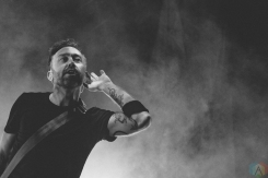 Rise Against performs at Budweiser Stage in Toronto on June 11, 2017. (Photo: Rick Clifford/Aesthetic Magazine)