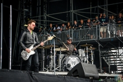 Royal Blood performs at the Governors Ball Music Festival in New York City on June 4, 2017. (Photo: Alx Bear/Aesthetic Magazine)