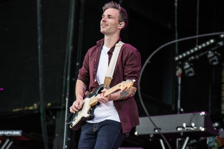 Said The Whale performs at Budweiser Stage in Toronto on June 24, 2017. (Photo: Tyler Roberts/Aesthetic Magazine)