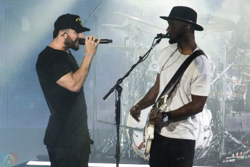 Sam Hunt performs at Budweiser Stage in Toronto on June 15, 2017. (Photo: Alyssa Balistreri/Aesthetic Magazine)