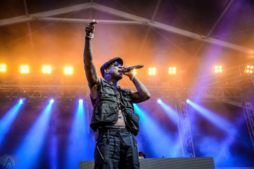 Skepta performs at the Governors Ball Music Festival in New York City on June 4, 2017. (Photo: Alx Bear/Aesthetic Magazine)