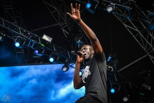 Stormzy performs at the Governors Ball Music Festival in New York City on June 3, 2017. (Photo: Alx Bear/Aesthetic Magazine)