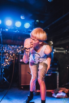 Sweatshop Kids performs at the Horseshoe Tavern in Toronto on June 22, 2017. (Photo: Alexander Lam/Aesthetic Magazine)