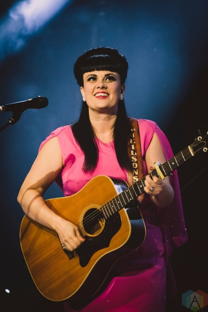 Tami Neilson performs at the Mod Club in Toronto on June 28, 2017. (Photo: Angelo Marchini/Aesthetic Magazine)