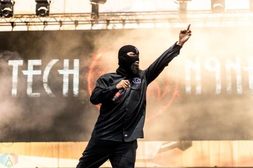 Tech N9ne performs at the Bunbury Music Festival in Cincinnati on June 3, 2017. (Photo: Taylor Ohryn/Aesthetic Magazine)