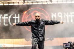 Tech N9ne performs at the Bunbury Music Festival in Cincinnati on June 3, 2017. (Photo: Taylor Ohryn/Aesthetic Magazine)
