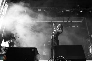 Tei Shi performs at the Field Trip Music Festival in Toronto on June 3, 2017. (Photo: Brendan Albert/Aesthetic Magazine)
