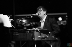 The Mountain Goats performs at the Showbox in Seattle on June 5, 2017. (Photo: Daniel Hager/Aesthetic Magazine)