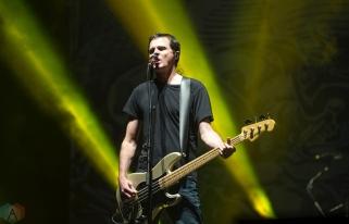 The Offspring performs at Montebello Rockfest in Montebello, Quebec on June 23, 2017. (Photo: Greg Matthews/Aesthetic Magazine)