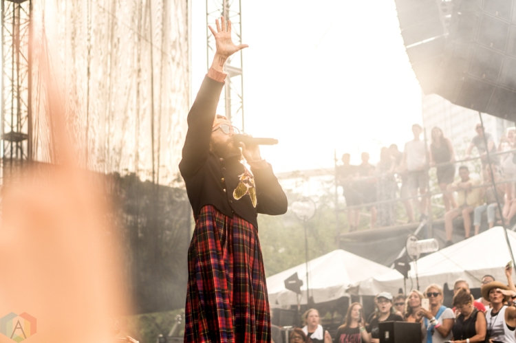Thirty Seconds To Mars performs at the Bunbury Music Festival in Cincinnati on June 4, 2017. (Photo: Taylor Ohryn/Aesthetic Magazine)