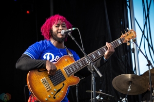 Thundercat performs at the Field Trip Music Festival in Toronto on June 4, 2017. (Photo: Brendan Albert/Aesthetic Magazine)