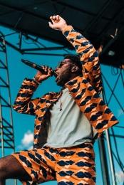 Tinie Tempah performs at NXNE Port Lands in Toronto on June 24, 2017. (Photo: Nicole De Khors/Aesthetic Magazine)