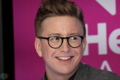 YouTuber Tyler Oakley attends the 2017 iHeartRadio Much Music Video Awards in Toronto on June 18, 2017. (Photo: Curtis Sindrey/Aesthetic Magazine)