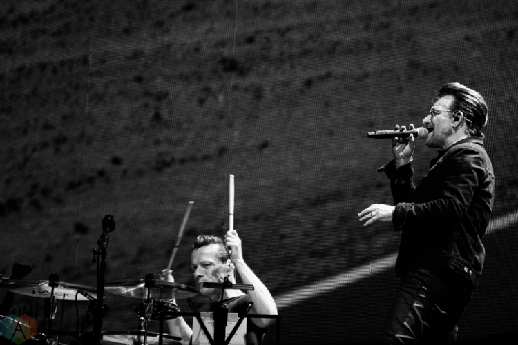 U2 performs at Rogers Centre in Toronto on June 23, 2017. (Photo: Lisa Mark/Aesthetic Magazine)