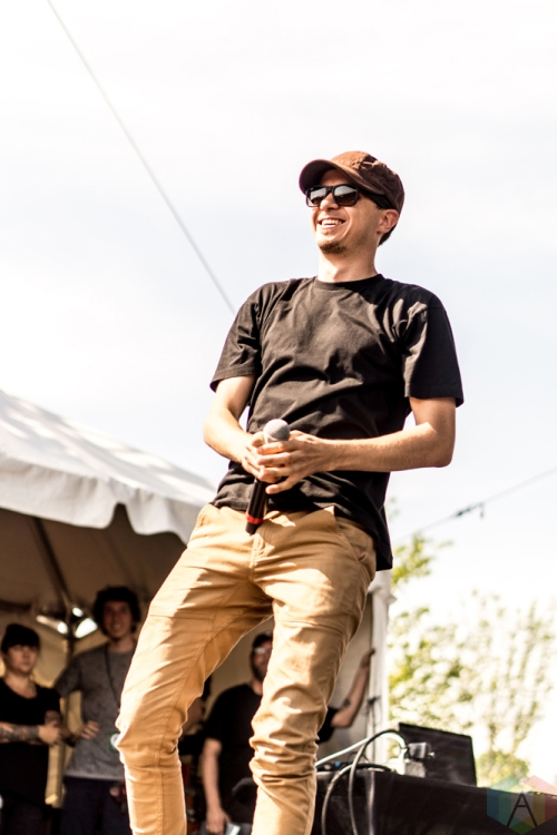 Watsky performs at the Bunbury Music Festival in Cincinnati on June 4, 2017. (Photo: Taylor Ohryn/Aesthetic Magazine)