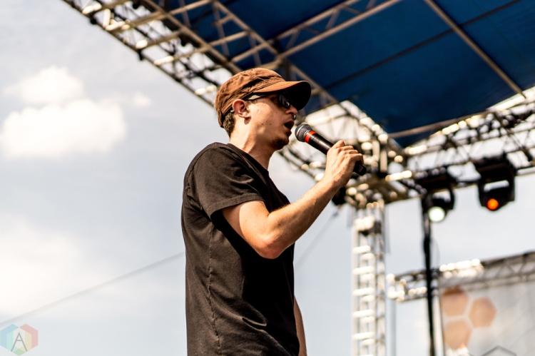Watsky performs at the Bunbury Music Festival in Cincinnati on June 4, 2017. (Photo: Taylor Ohryn/Aesthetic Magazine)