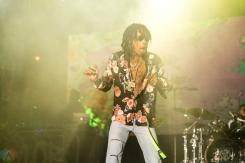 Wiz Khalifa performs at the Bunbury Music Festival in Cincinnati on June 2, 2017. (Photo: Taylor Ohryn/Aesthetic Magazine)