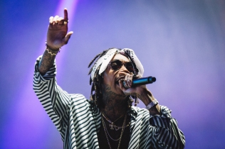 Wiz Khalifa performs at the Governors Ball Music Festival in New York City on June 4, 2017. (Photo: Hand-Out)